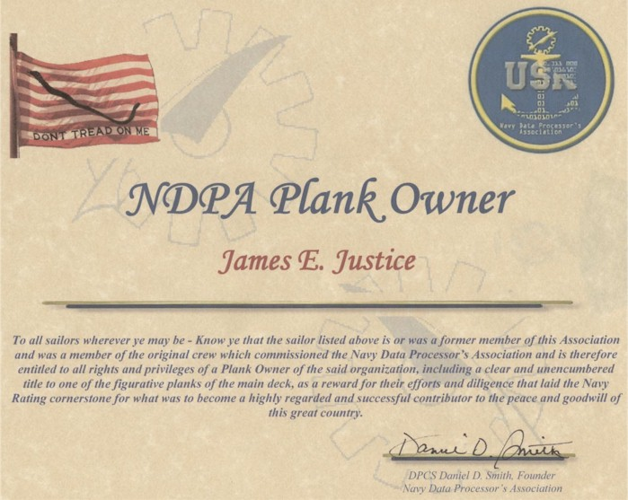 Navydp association home my website sample plank owners certificate yelopaper Image collections